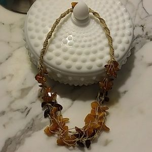 """Baltic Amber Multi-Color Beaded Necklace 20"""""""